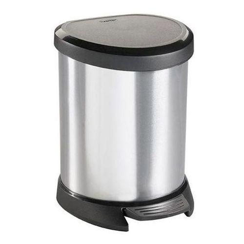 Kosz na śmieci metalizowany 5l - produkt dostępny w OLE.PL Profesjonalne Rozwiązania Higieniczne