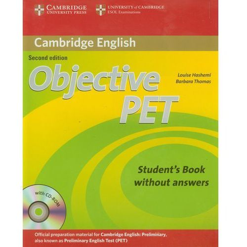 Objective Pet Student's Book Without Answers With Cd-Rom (216 str.)