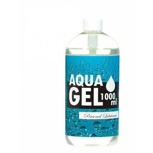Lubrykant na bazie wody aqua gel 1000ml nie plami marki Lsdi