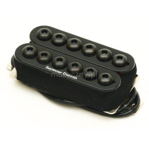 sh-8b blk invader przetwornik do gitary elektrycznej do montażu przy mostku, kolor czarny marki Seymour duncan