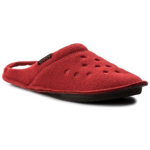 Kapcie - classic slipper 203600 pepper/oatmeal marki Crocs