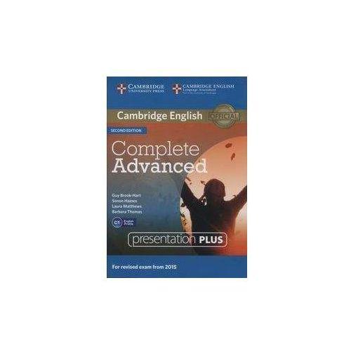 Complete Advanced Presentation Plus DVD (Płyta DVD)