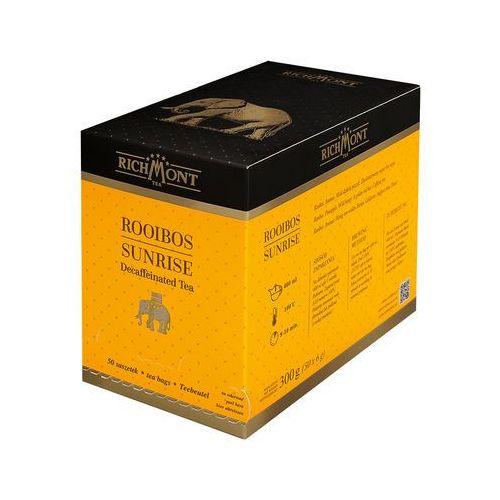 Herbata o smaku miodowo-ananasowym, 50 saszetek | , rooibos sunrise marki Richmont