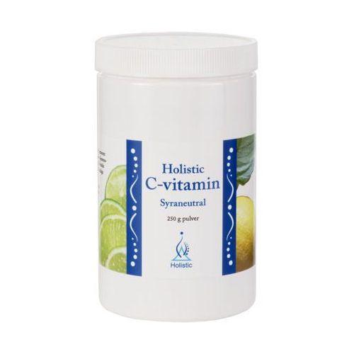 Holistic Lewoskrętna witamina c w proszku buforowana neutralnie ph7 askorbinian magnezu  250g, kategoria: pozostałe zdrowie