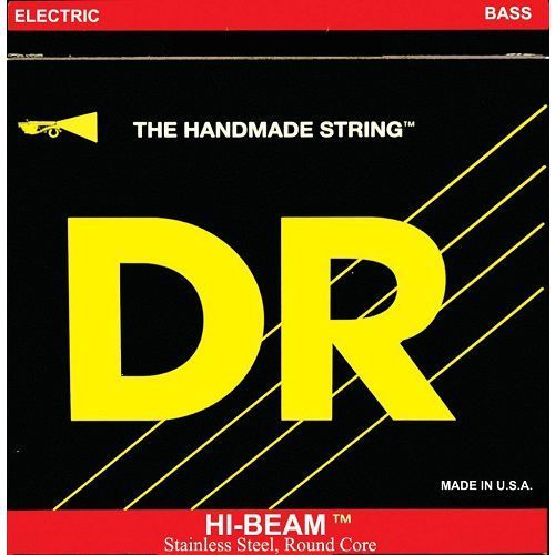 DR HI-BEAM - struny do gitary basowej, 6-String, Medium,.030-.130