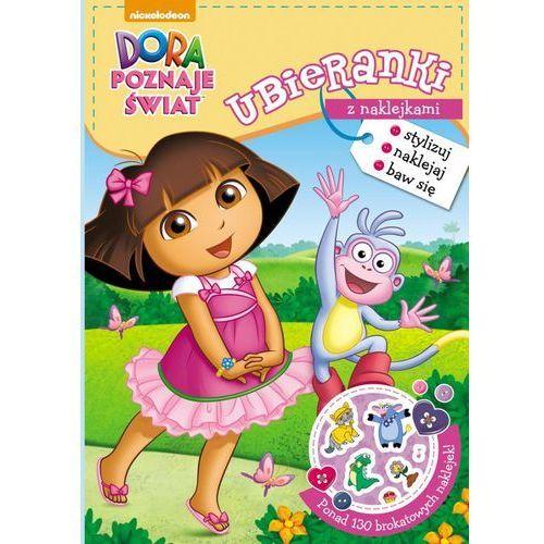 Dora poznaje świat Ubieranki z naklejkami - Jeśli zamówisz do 14:00, wyślemy tego samego dnia. Darmowa dostawa, już od 300 zł., Ameet