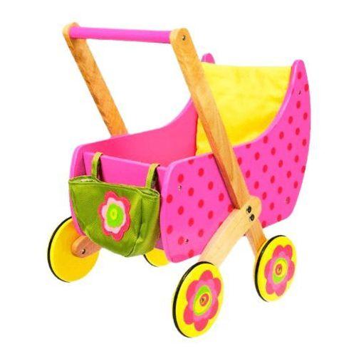 DUSHI Wózek dla lalek z kołderką i torbą - oferta [0537d540436fb56b]