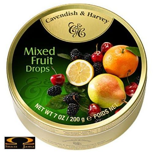 Landrynki Cavendish & Harvey Owocowy mix 200g, 637