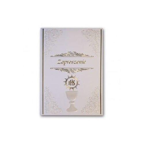 Zaproszenie na Komunię Świętą - Karnet z kopertą (nr 6)