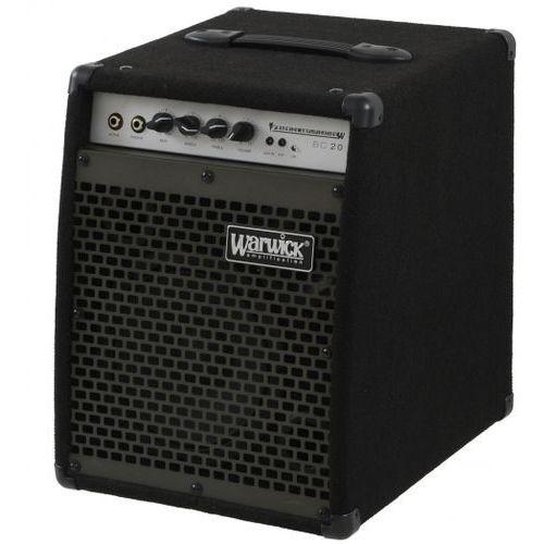 Warwick bc-20 wzmacniacz basowy combo 20w głośnik 8″