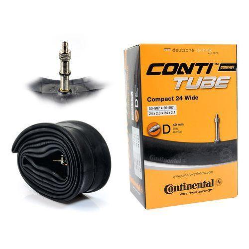 Continental Co0181331 dętka  compact 24'' x 2,0'' - 2,4'' wentyl dunlop 40 mm (4019238556483)