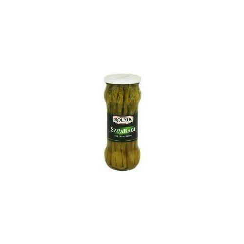 Rolnik Szparagi całe zielone premium 370 ml