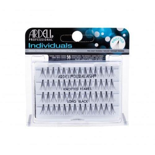Ardell individuals duralash knotted flares sztuczne rzęsy 56 szt dla kobiet long black