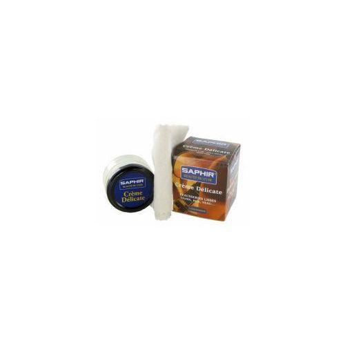 Delicate Cream 50ml + szmatka - krem do skór delikatnych SAPHIR