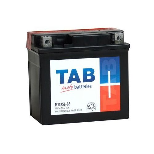 Akumulator motocyklowy ytx5l-bs (mytx5l-bs) 12v 4ah 55a p+ marki Tab