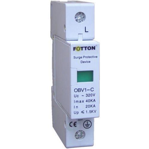 Ogranicznik przepięć FOTTON OBV1-C40/1P 20/40kA klasa C, ochronnik przciwprzepięciowy