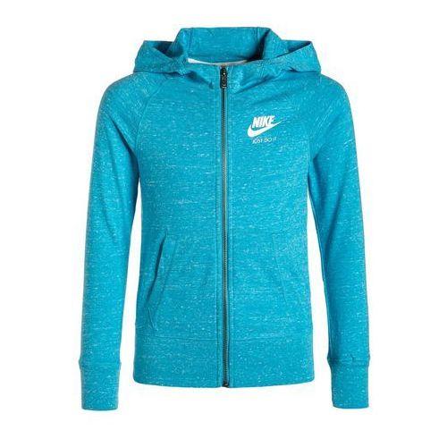 Nike Performance GYM VINTAGE Bluza rozpinana omega blue/sail - oferta [b528dcaeff83c683]