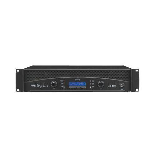 Profesjonalny wzmacniacz stereo pa sta-600 marki Monacor
