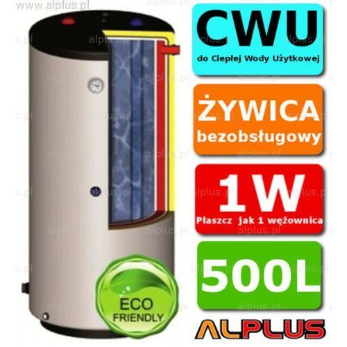 ERMET 500l pionowy dwupłaszczowy bojler do CWU - podgrzewacz wymiennik bezobsługowy - WYSYŁKA GRATIS, DPWSto - E.P.G.C 500l +skay
