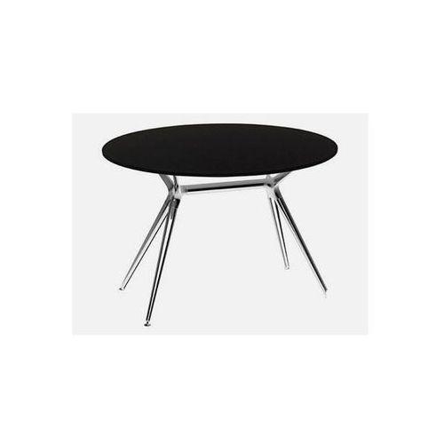 Stół Metropolis II czarny nogi chromowe Machina Meble 5306-402-7011-CR-002 - produkt dostępny w sfmeble.pl