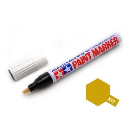 Marker farba emaliowa X12 Gold