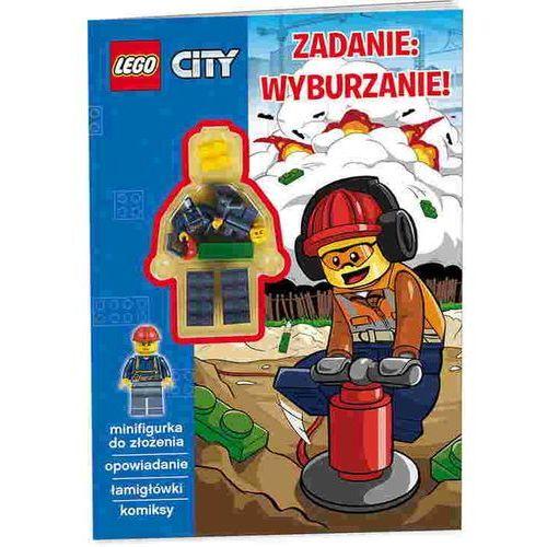 LEGO ® City. Zadanie: wyburzanie!, pozycja z kategorii Książki dla dzieci
