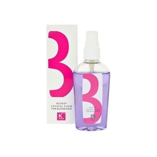 Kallos Blossy Crystal Fluid For Blond Hair 80ml W Olejek do włosów blond - sprawdź w E-Glamour.pl