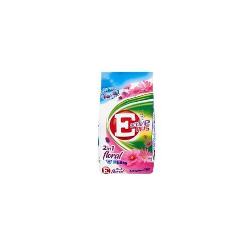 E Active Plus 2in1 Floral Proszek do prania 5,6 kg (proszek do prania ubrań)