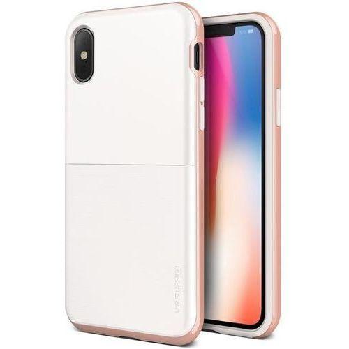 Etui high pro shield s iphone x white rose marki Vrs design