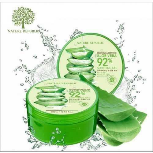 Nature Republic, Aloe Vera 92% Soothing Gel (Żel aloesowy) - 300 ml (8806173420377)