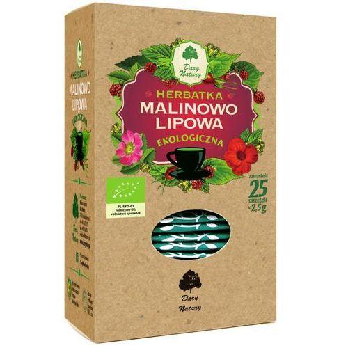 HERBATKA LIPOWO - MALINOWA BIO (25 x 2,5 g) - DARY NATURY (5902741004871)