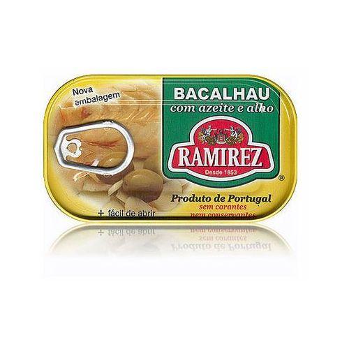 Ramirez Bacalhau dorsz po portugalsku w oliwie z oliwek z czosnkiem 120g