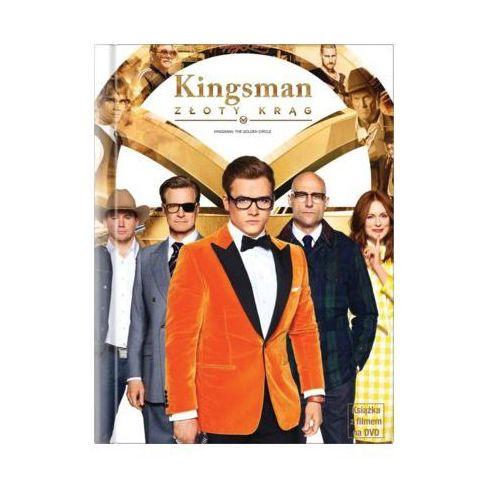 Kingsman: Złoty krąg (DVD) + Książka