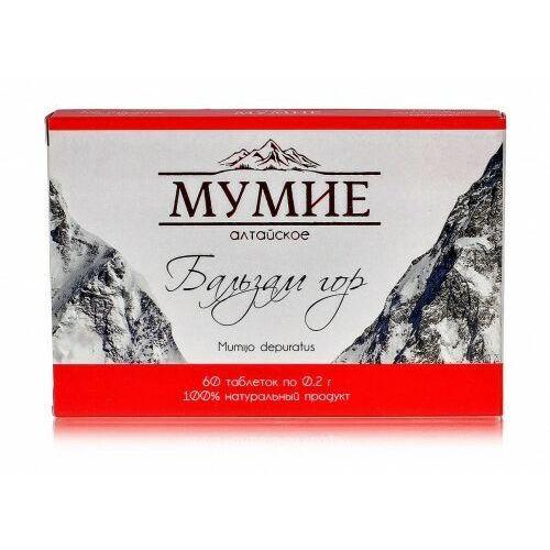 Farm produkt Mumio oczyszczone shilajit ałtajskie balsam gór 60 tab 0,2g (4607117341765)