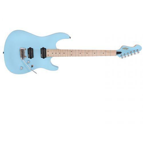 Vintage v6m24lb gitara elektryczna, laguna blue
