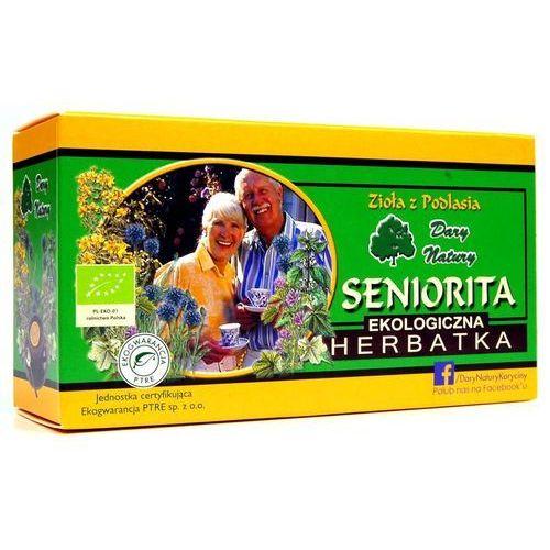 Dary natury Seniorita eko - herbata ekspresowa - (5902741002570)