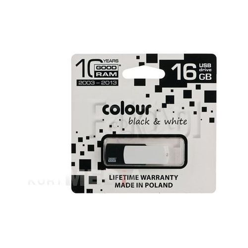 GOODRAM FLASHDRIVE 16GB USB 2.0 BLACK&WHITE - oferta (05a5d240f32fc2f2)