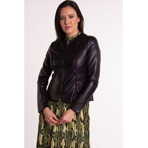 40ba716deb2c4 Czarna kurtka ze sztucznej skóry, ekoskóra 249,00 zł Krótka kurtka to dobre  uzupełnienie wielu kreacji. Sprawdzi się zarówno w połączeniu ze spodniami  ...