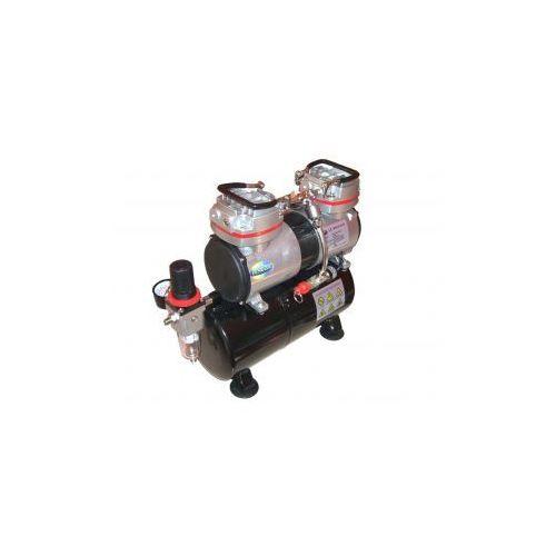 Dwutłokowy kompresor z zbiornikem ciśnieniowym Fengda® AS-196, produkt marki Aerograf Fengda