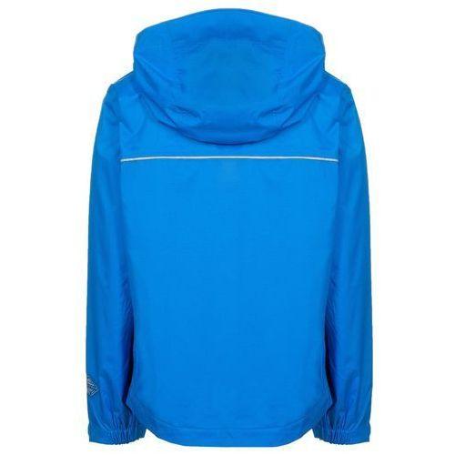 Columbia SPLASH MAKER III Kurtka przeciwdeszczowa blau - produkt z kategorii- kurtki dla dzieci