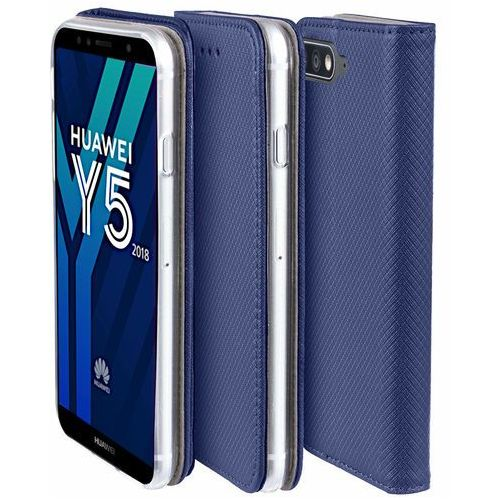 Etui Huawei Y5 2018 Smart niebieskie