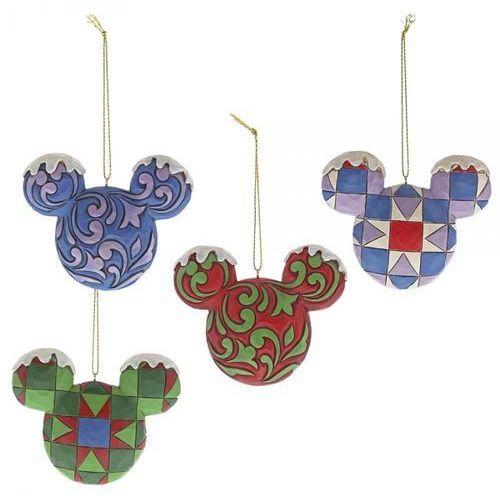 Zawieszka myszka miki mickey mouse head hanging ornament set a29543 figurka ozdoba świąteczna marki Jim shore