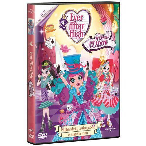 EVER AFTER HIGH. W KRAINIE CZARÓW DVD - Różni (5902115601774)