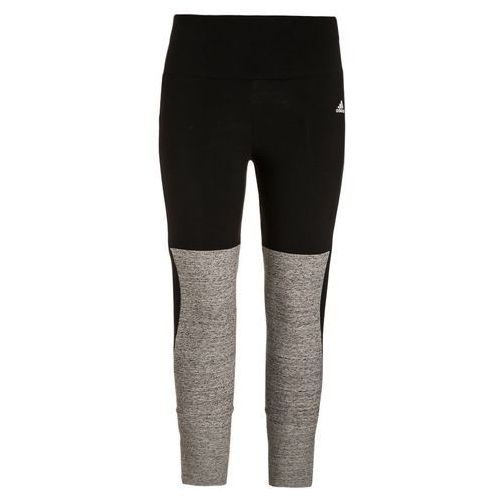adidas Performance KEY Legginsy black/pepper medium grey heather (4056566786502)