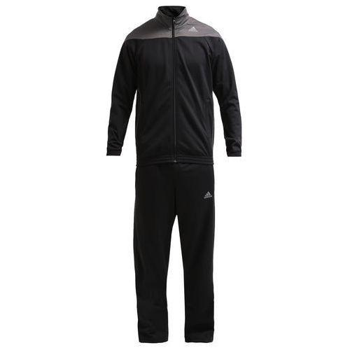 adidas Performance TRACKSUIT Dres black - produkt z kategorii- dresy męskie komplety
