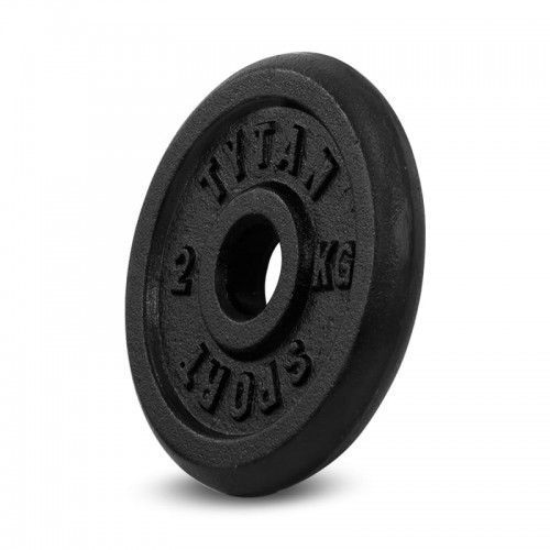 Tytan sport Obciążenie żeliwne 2 kg