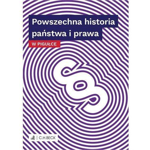 Powszechna historia państwa i prawa w pigułce, Wioletta Żelazowska