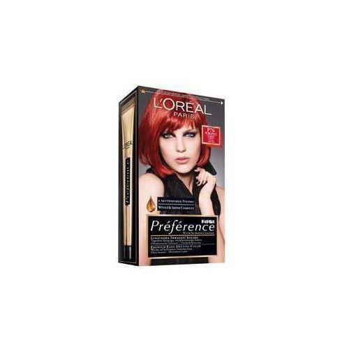 Feria Preference farba do włosów P76 Pure Spice Plomienna czerwień, L'Oreal Paris