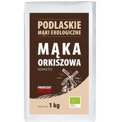 Podlaskie mąki ekologiczne 1kg mąka orkiszowa razowa typ 2000 bio