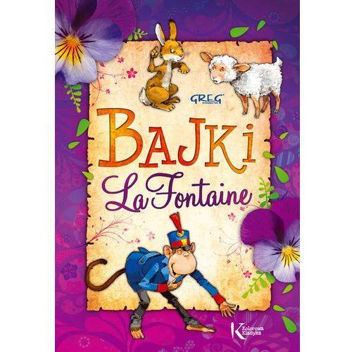 Bajki La Fontaine kolor BR GREG (9788375174984)
